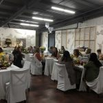Our venue was perfect for a small seated bridal luncheon.
