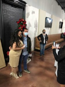 company Christmas party at Ft. Worth venue rental