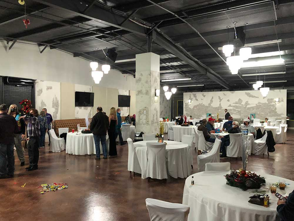 Corporate holiday party venue in Ft. Worth