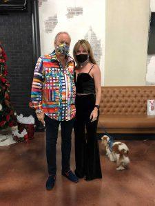Dog friendly Christmas party venue rental
