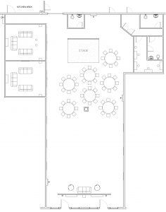 floorplans for receptions