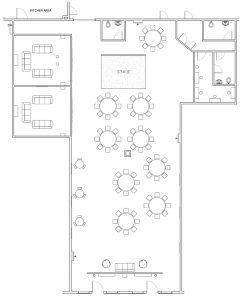 floorplans for event venue