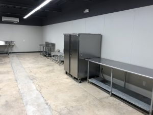 prep kitchen at forth worth event rental space